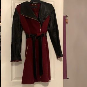 Black rivet jacket size small.